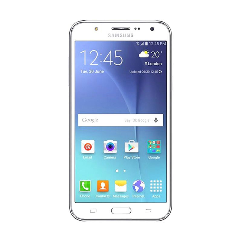 Samsung Galaxy J5 Smartphone - White [8GB/ 1.5GB]