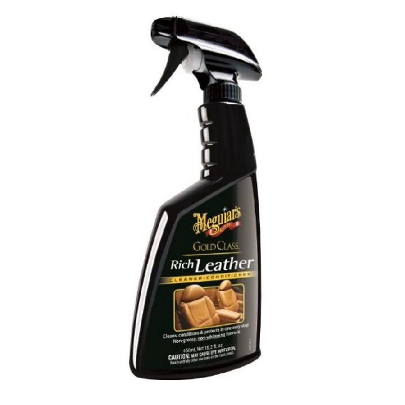 Meguiar's Rich Leather Cleaner & Conditioner Spray [450 mL]