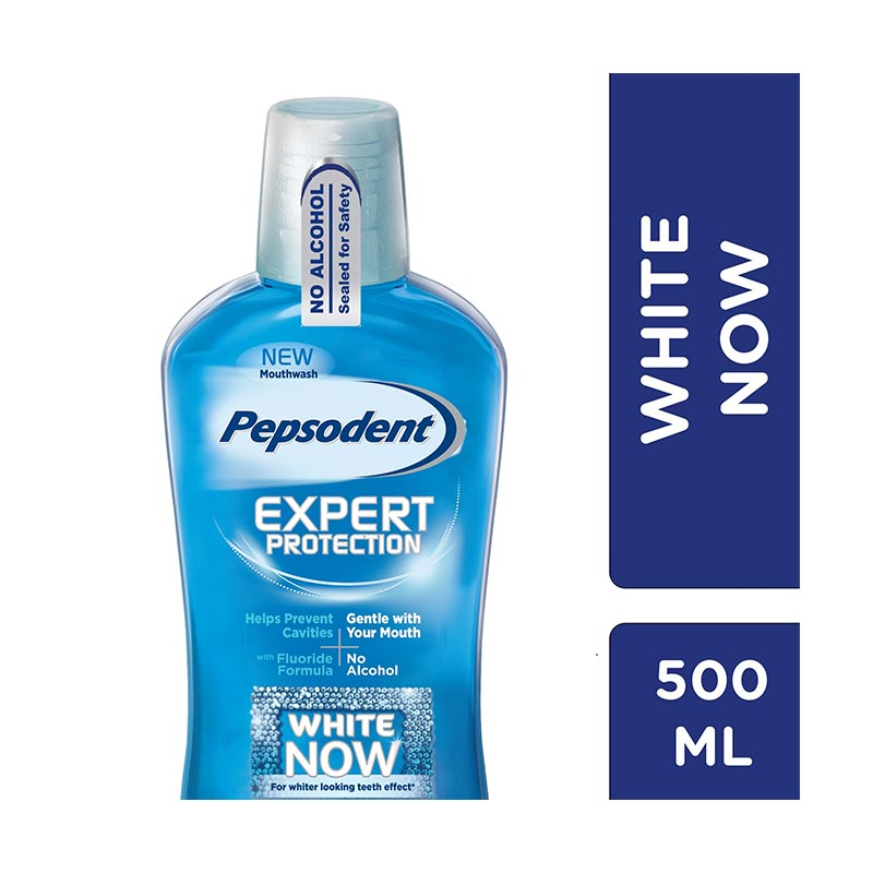 Pepsodent White Now Mouthwash [500 mL/21011136]