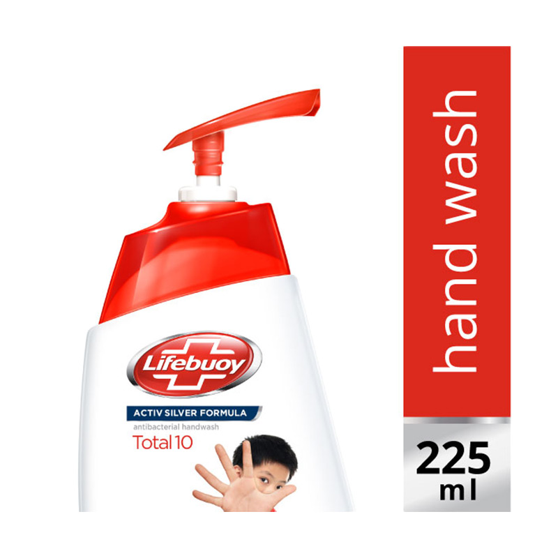 Lifebuoy Total 10 Pump Hand Wash [225 mL]