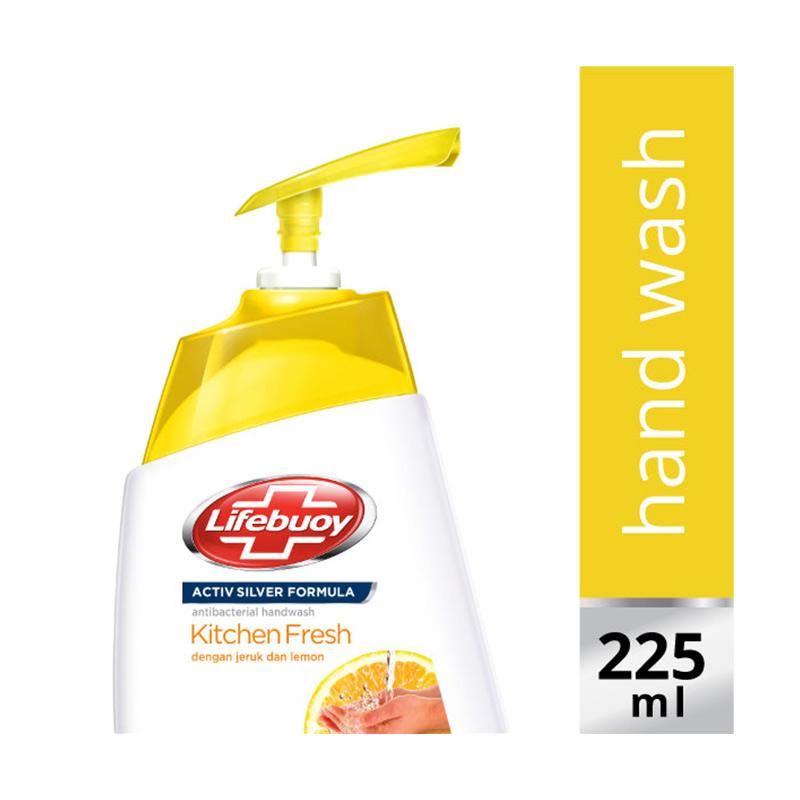 Lifebuoy Hand Wash Liquid Kitchen Fresh Pump [225 mL]