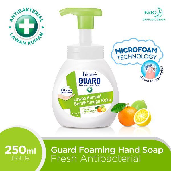 Biore Fresh Antiseptic Foaming Hand Soap