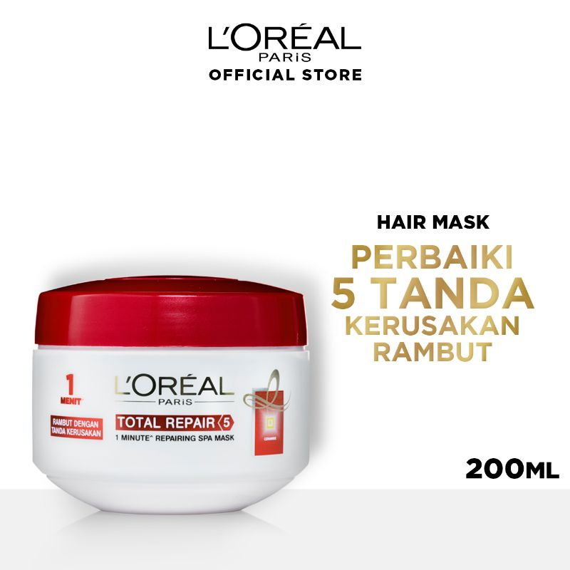 L Oreal Paris Hair Care Total Repair 5 Mask