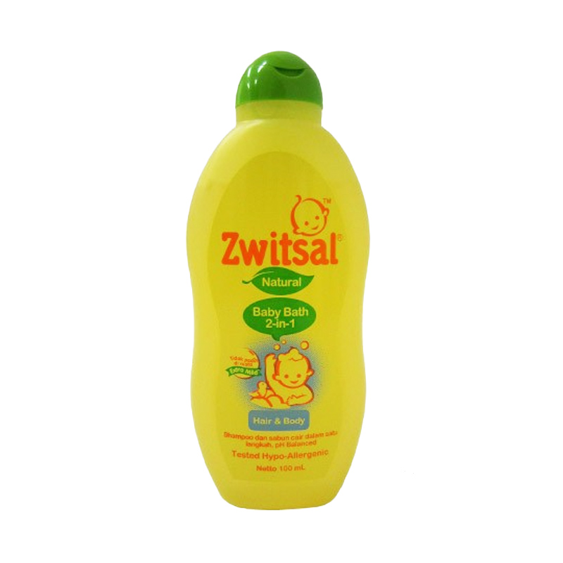 Zwitsal Natural Baby Bath 2 in 1 [100 mL]