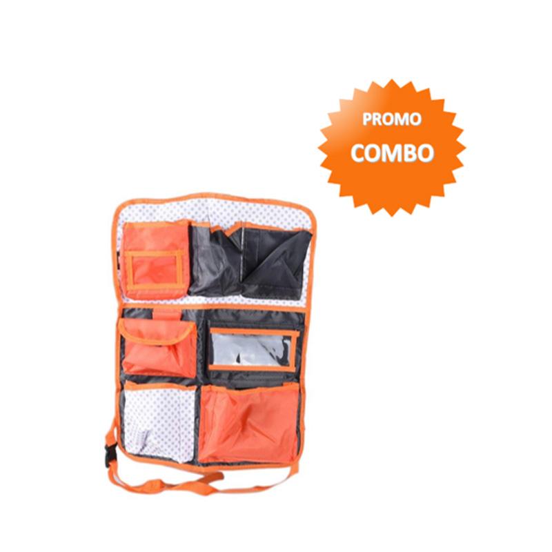 1PRICE Car Backseat Organizer CO0024 Orange