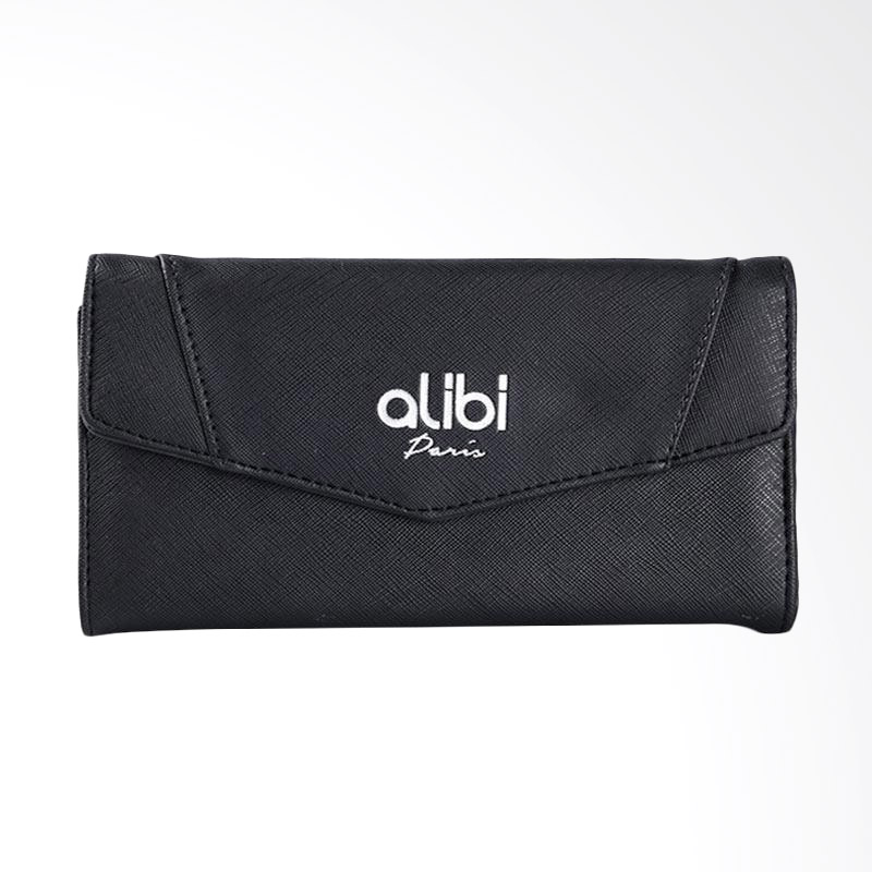 Alibi Sanaha Wallet W0410B5 Long Wallet - Black
