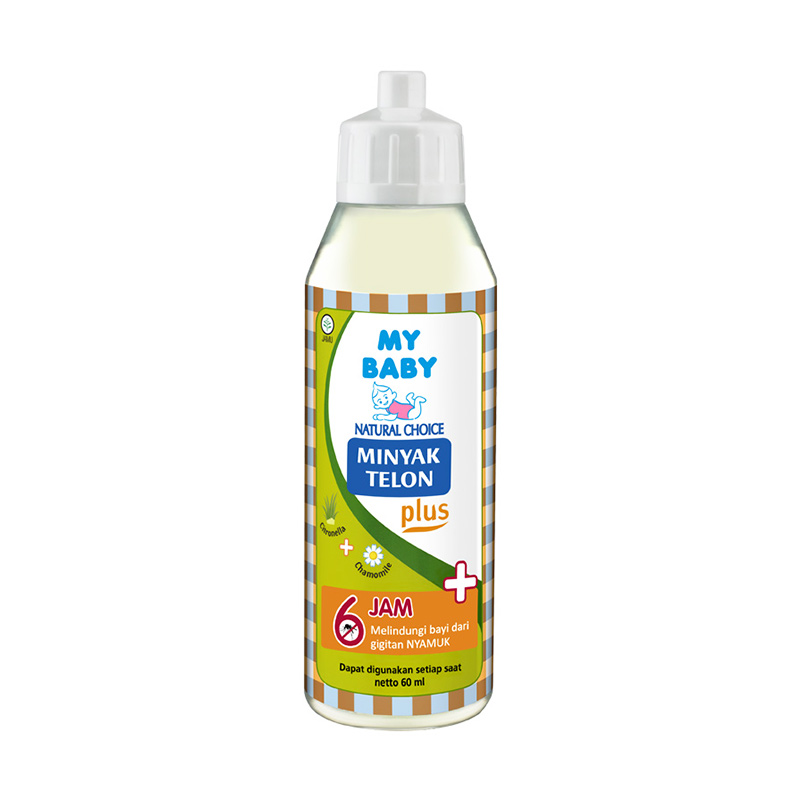 My Baby Minyak Telon Plus [60 mL]