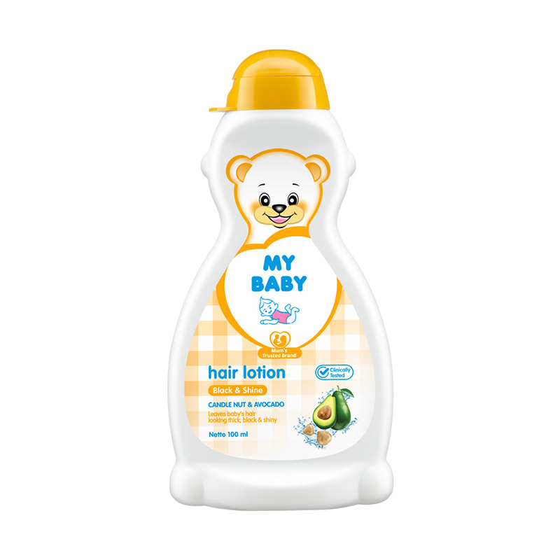 My Baby Hair Lotion Black & Shine [100 mL]