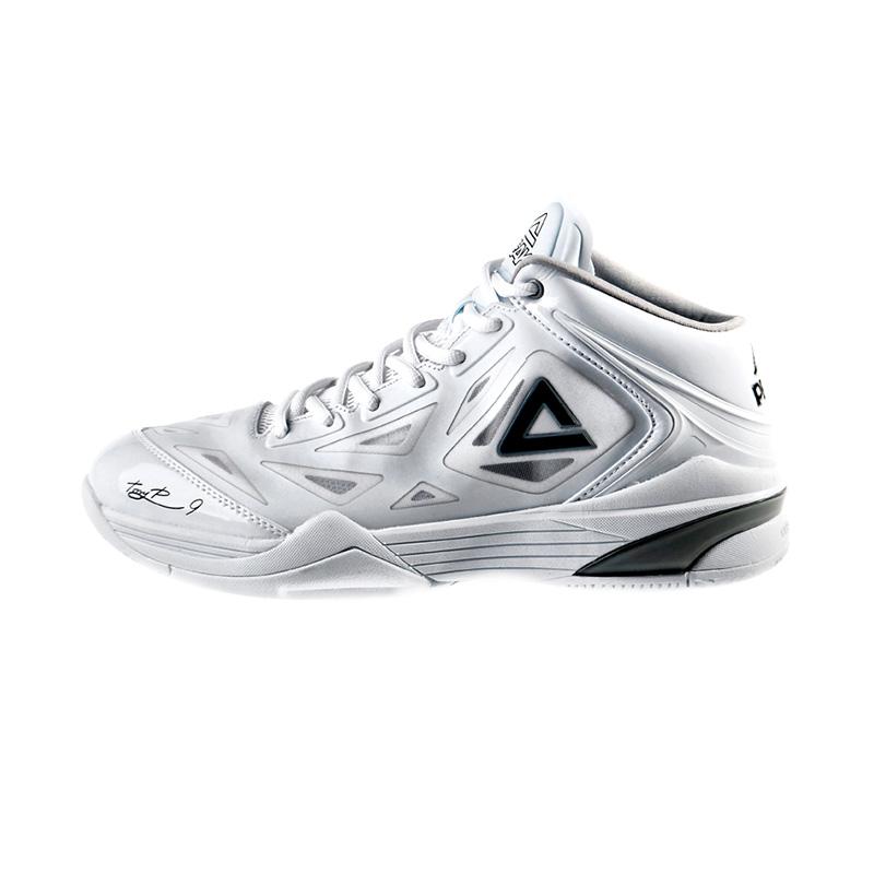 harga PEAK New Arrival Tony Parker Edition Sepatu Basket - White (E33323AP) Blibli.com
