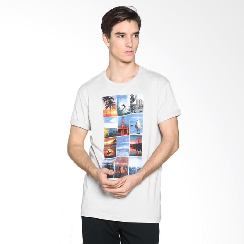 Ocean Pacific 03MTY00231 Mens Tshirt Young - Light Grey