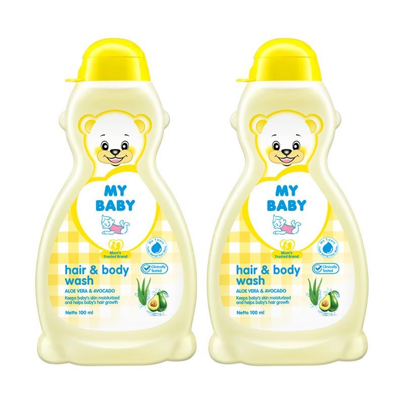 My Baby Hair & Body Wash [100 mL/ 2 Pcs]