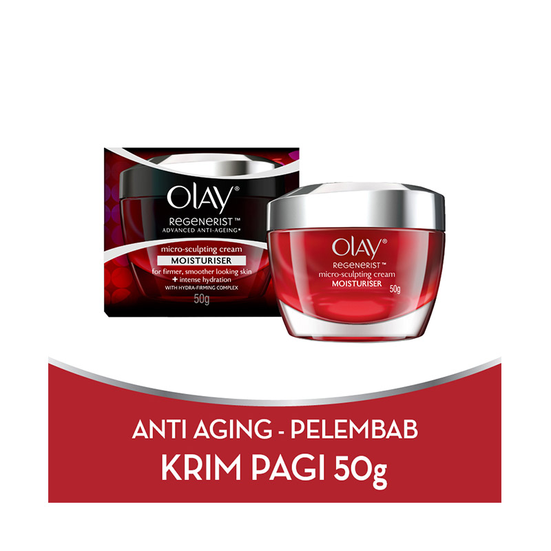 Olay Advanced Anti Aging ? Pelembab Regenerist Micro-sculpting Cream ? 50g