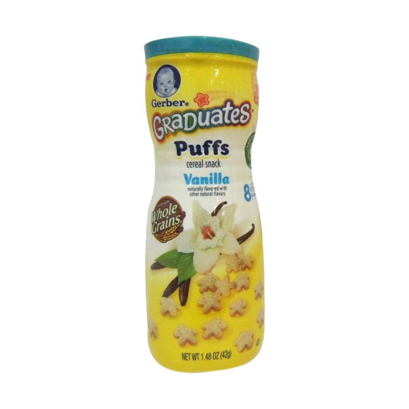 Gerber Graduates Puffs Vanilla Snack Bayi
