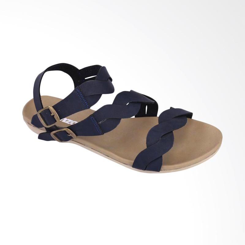 harga Catenzo Whisperwind JB 148 Sandal Flat Wanita - Beige Blue Blibli.com