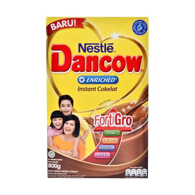 Dancow Instant Cokelat Susu Formula [800 g]