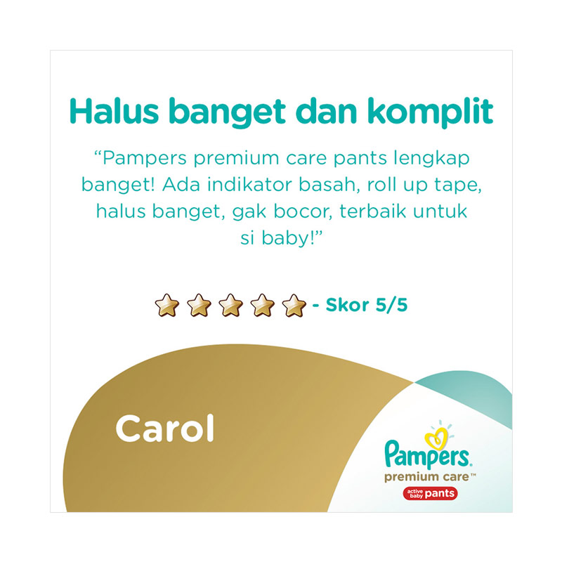 Pampers Popok Premium Care ... Source · Rp 169,900. Rp 144,415 ( 15
