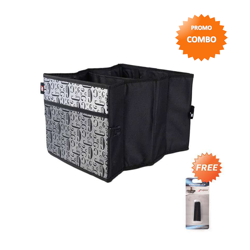 Trunk Car Organizer Free Car Accessories GHL J7053 Sunglass Clip Black