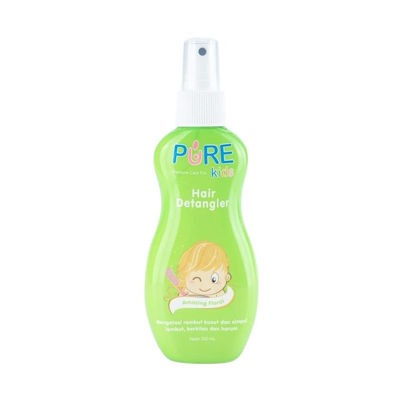 Pure Kids Hair Detangler Amazing Spray Rambut Anak - Floral [200 mL]