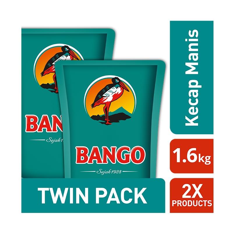 Bango 67098212 Kecap Manis Bumbu Masak [1.6 kg/2 Pouch]