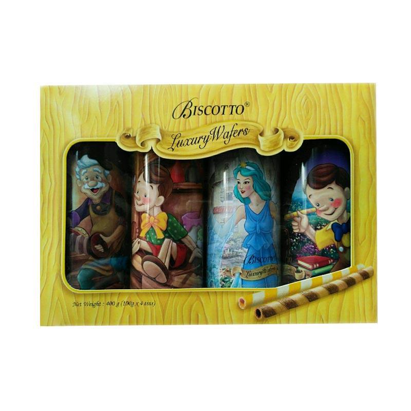 harga Biscotto Pinchoccio Luxury Wafers [100 g/4 tins] Blibli.com
