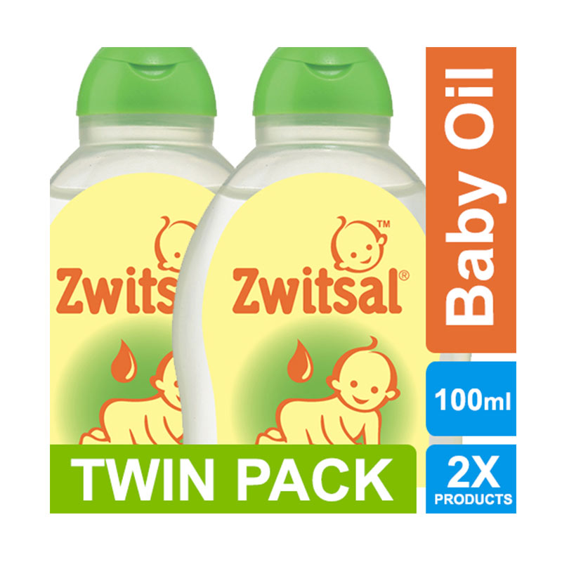Zwitsal Baby Oil Natural [100 mL/2 pcs] 21011154