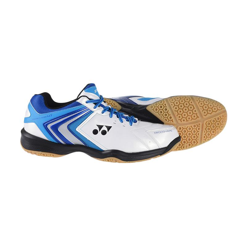 Jual Yonex Power Cushion 47 Sepatu Badminton Biru Bshshb47exzz