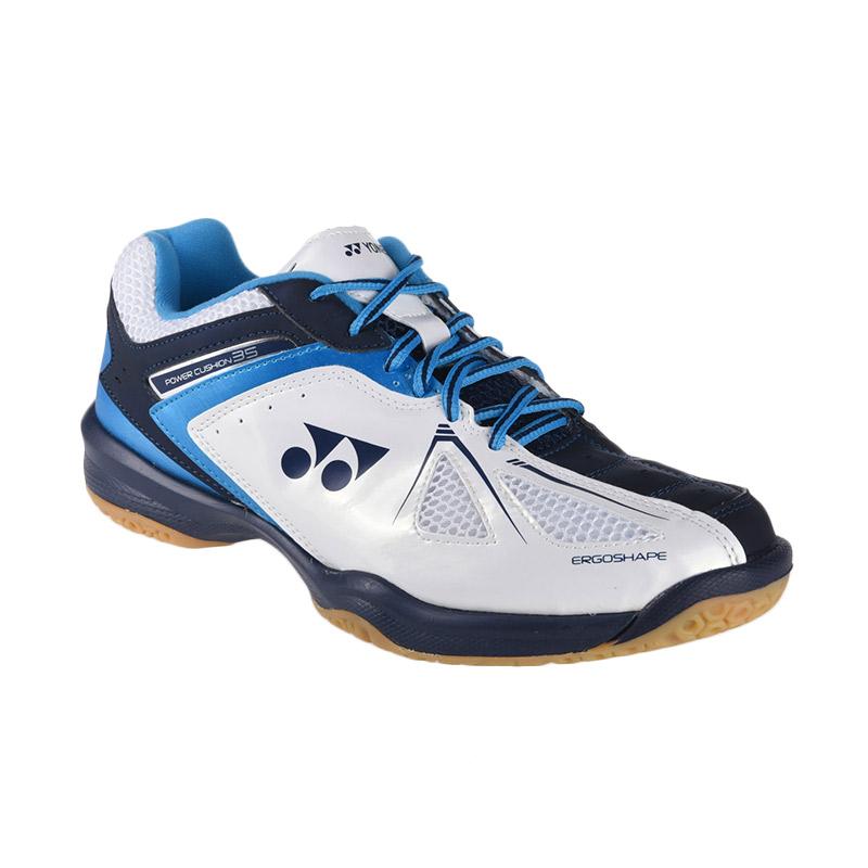 Jual Yonex Power Cushion 35 Sepatu Badminton - White Sky