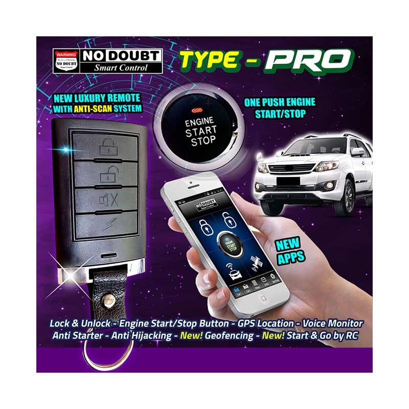 No Doubt Smart Control Mobil Type PRO