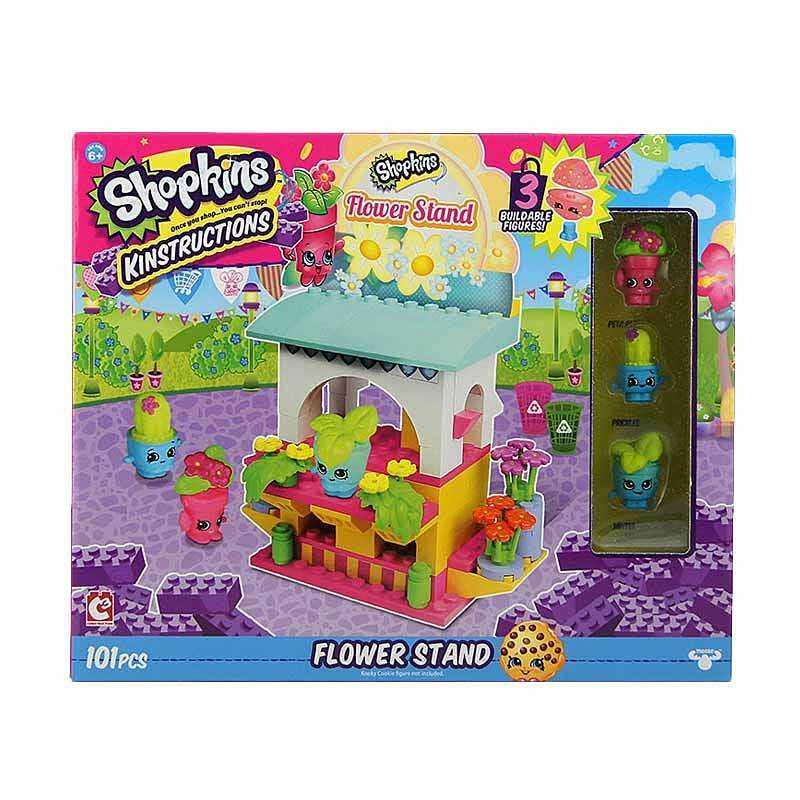 Shopkins Kinstructions Flower Stand Brick Mainan Blok