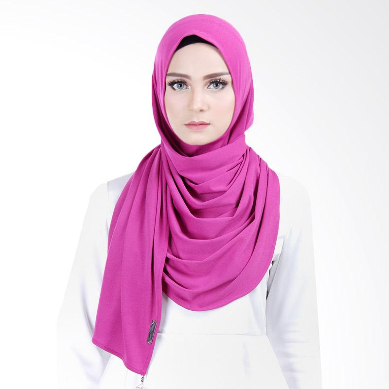 Cantik Kerudung Scarlett Jersey Crepe Instant - Royal Purple
