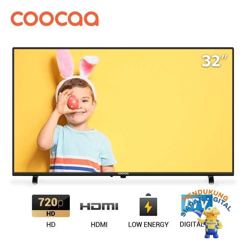harga Coocaa LED TV 32 inch - Digital TV DVB T/T2 - Panel HD (32D5T) Blibli.com