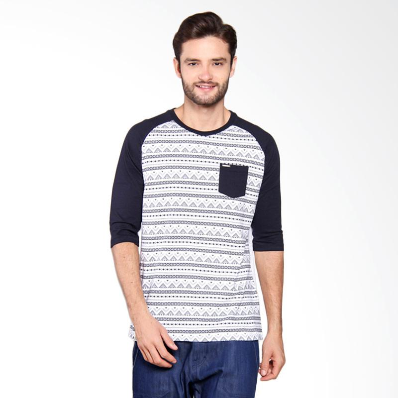 Greenlight Ethnic Striped Basic Reglan Blue 202061712