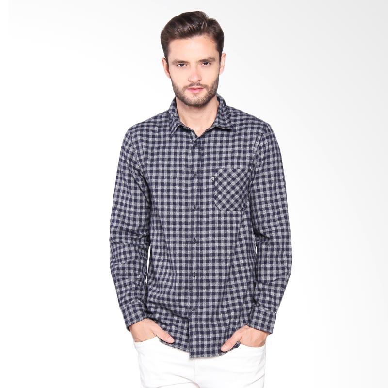 Greenlight Shirt Pria - Blue 209051711