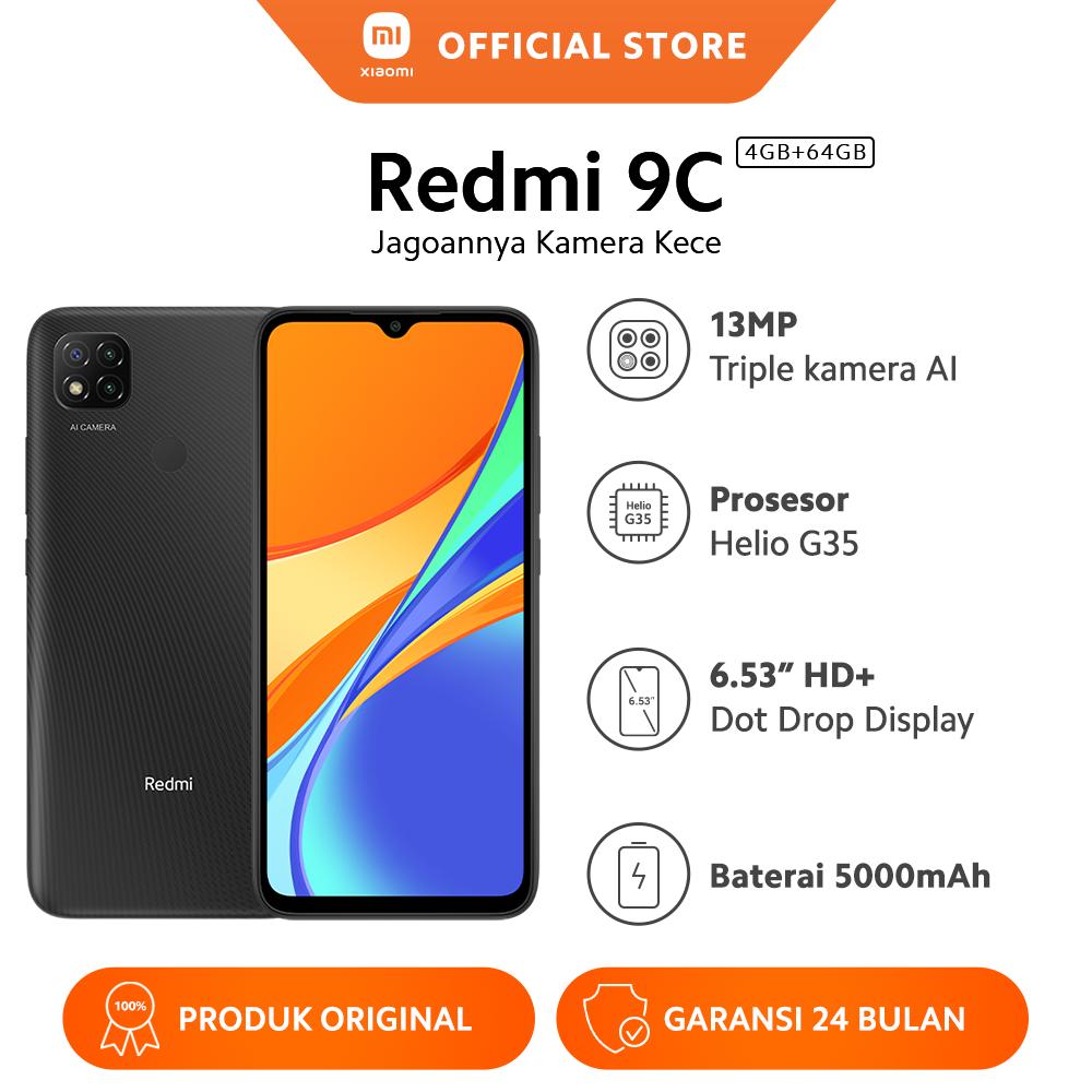 Xiaomi Redmi 9C Smartphone 4GB 64GB O