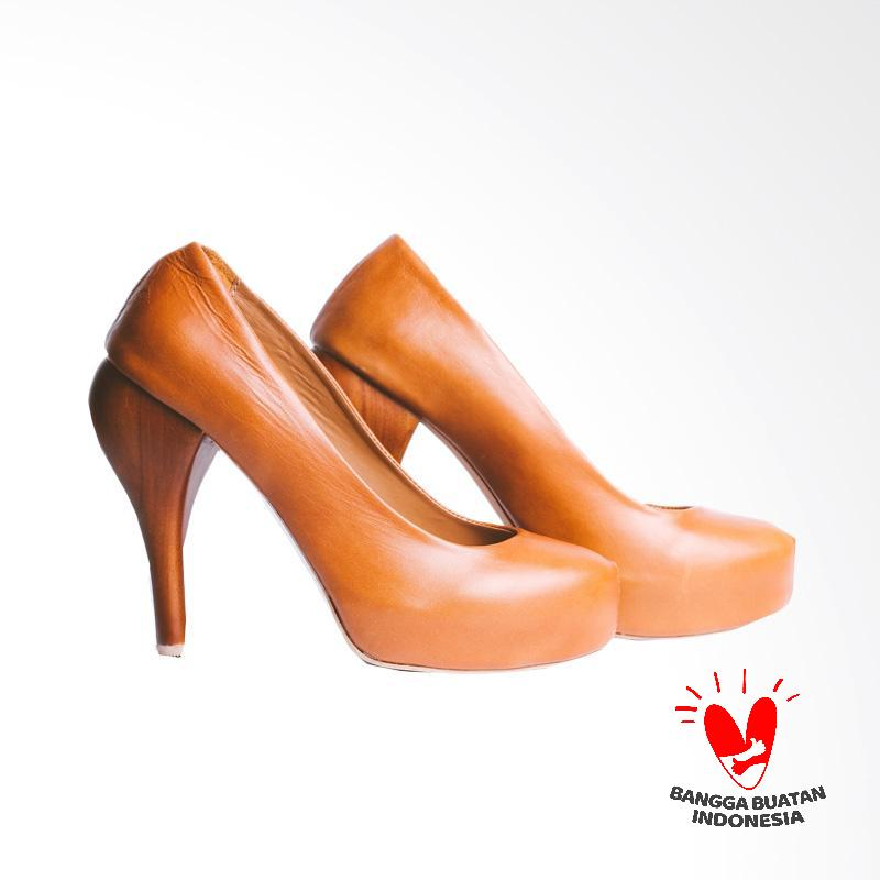 Thia Label Aruna High Heels - Brown
