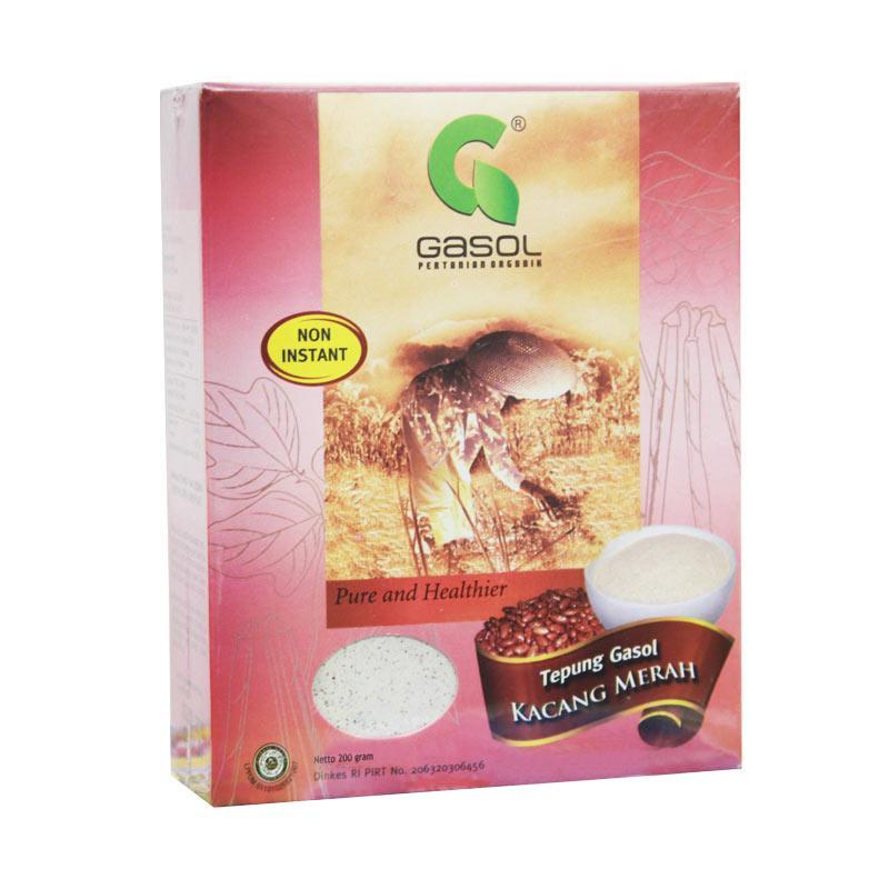 Gasol Pure and Healthier Kacang Merah Makanan Bayi [200g]