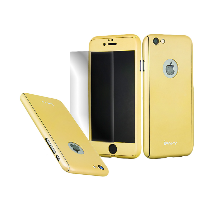 iPaky 360 Full Protection Casing for iPhone 6 - Gold