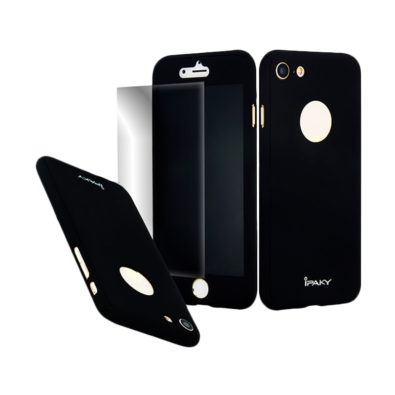 iPaky 360 Full Protection Casing for iPhone 7 - Black