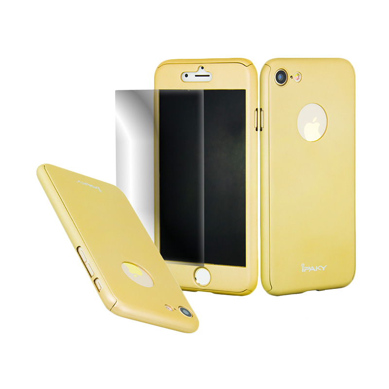 iPaky 360 Full Protection Casing for iPhone 7 - Gold