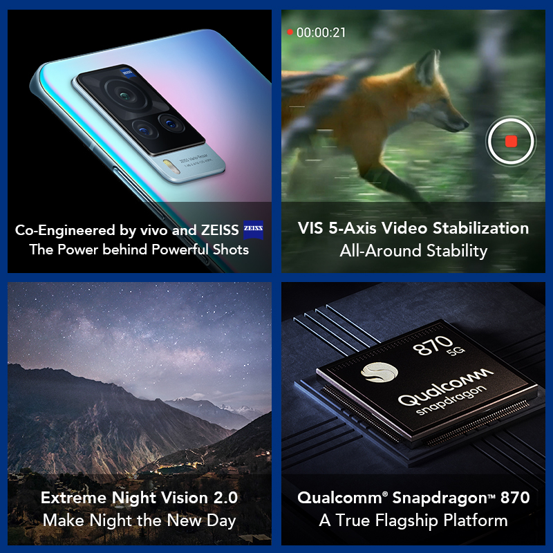 Smartphone Vivo X60