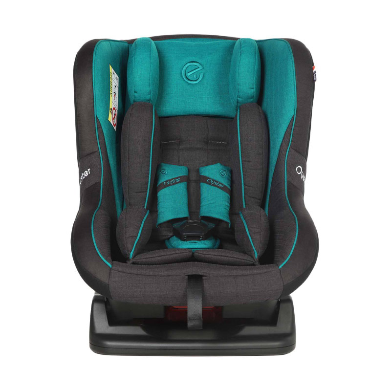 Oyster OY-363-TT Aries Deep Topaz Car Seat - Tungsten Grey [0-4 Tahun]