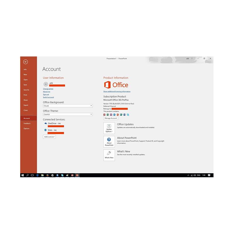 Jual Microsoft Office 365 Pro Plus + 5 TB OneDrive [Lifetime