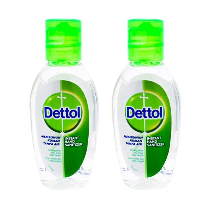 Jual Dettol Hand Sanitizer 2 X 50 ML Online