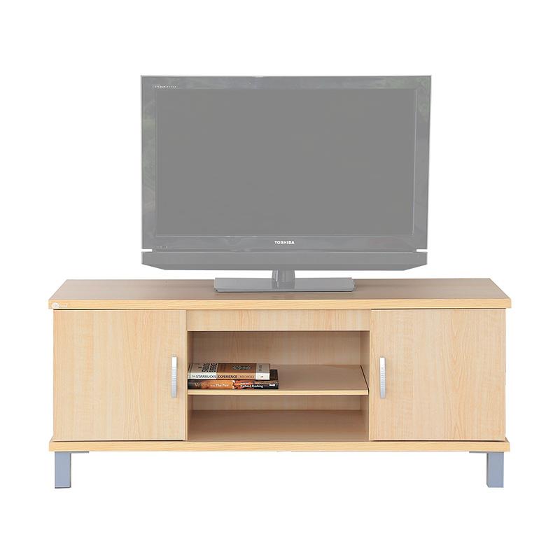 Spek Harga Kirana 825 WO Meja TV - White Oak Terbaru