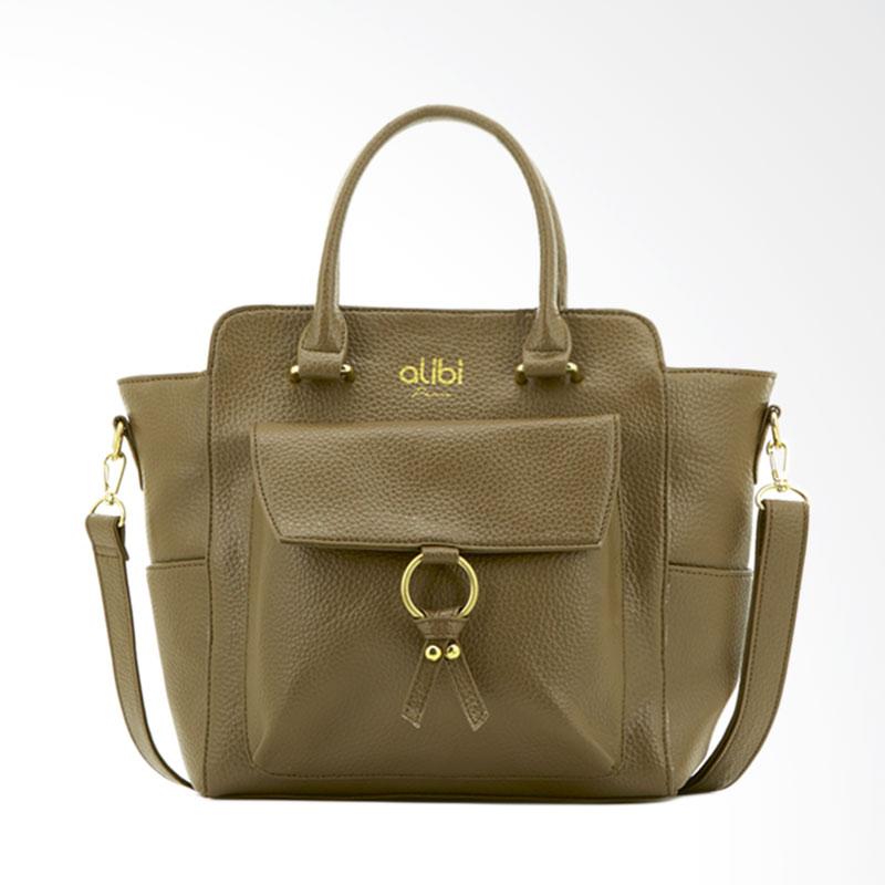 Alibi Quelena T3590T3 Hand Bag Wanita - Brown