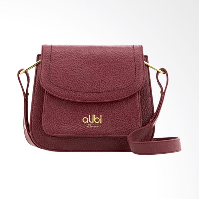 Alibi Giselta T3593B8 Sling Bag Wanita - Red