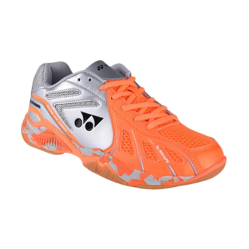 YONEX Men Super Ace Light Sepatu Badminton Pria - Orange Sliver 178e2f9412