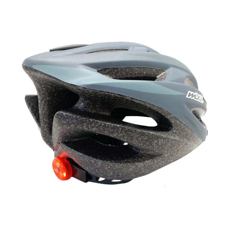 Mexel Helm Sepeda - Grey 059