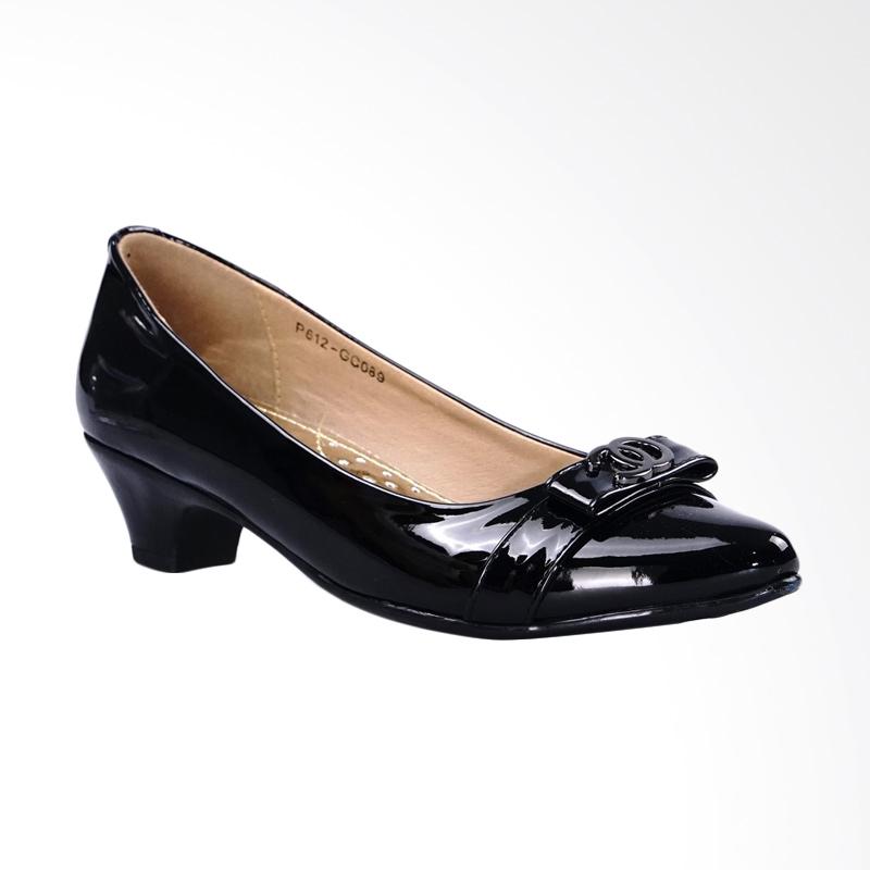 Ghirardelli Heels Bertha - Black