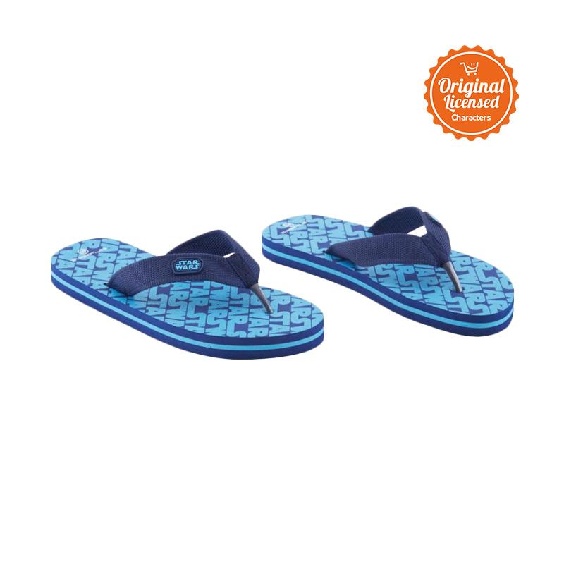harga Marvel Star Wars Flip Flop Teen Sepatu Anak Laki - Blue Blibli.com